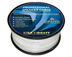 Speaker Cable White 2X0.75mm