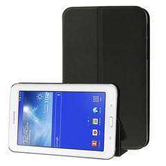 Flip Leather Case for Samsung Galaxy Tab 3 Lite