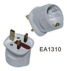 Schuko to UK Adaptor Plug