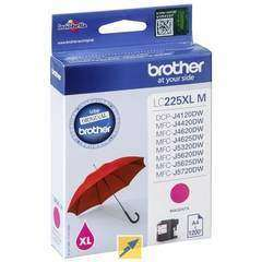 Brother LC225XLM Magenta Ink