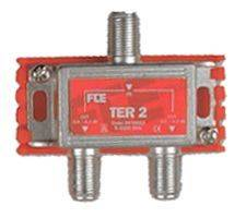FTE 2 Way TV Antenna Splitter Terrestrial