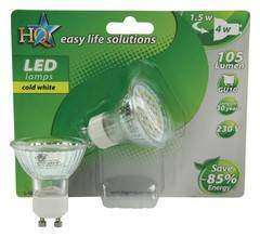 HQ LED Lamp GU10 4W