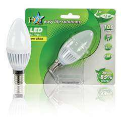 HQ LED Lamp E14 3W