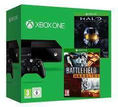 Xbox One Standard 500GB + Battlefield Hardline + Halo The Master Chief Collection