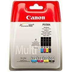 Canon CLI-551 Multi Pack Ink BLK/C/M/Y