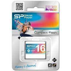 Silicon Power 16GB Compact Flash