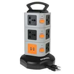 HAWEEL 3 Layers with 11 Outlets and 2 USB Ports