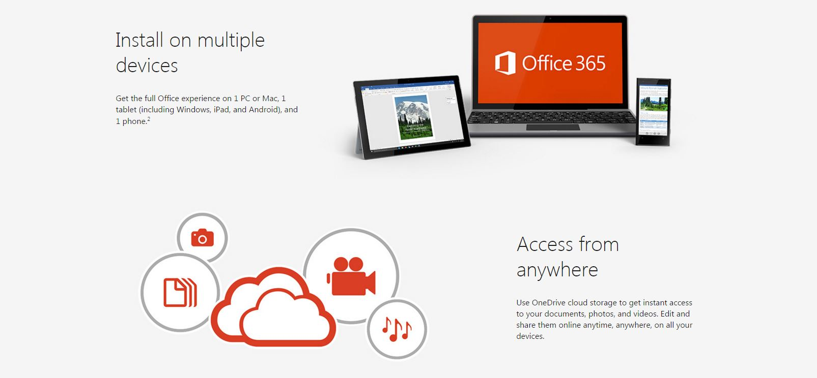 Microsoft Office for multiple devices