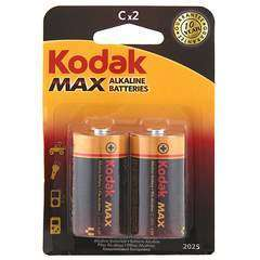 Kodak 1.5v C size Alkaline Battery (Pack of2)