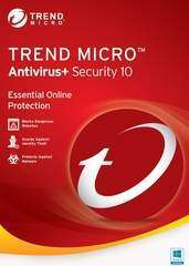Trend Micro Antivirus + Security 10