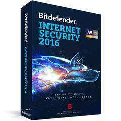 Bitdefender Internet Security 2016 + Free Mobile License 1 User