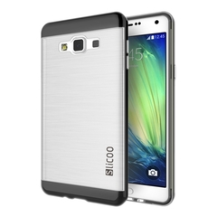Slicoo Brushed Texture Transparenct Case for Samsung Galaxy A5 / A500