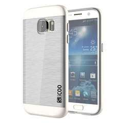 Silcoo Brushed Texture Transparent TPU Case for Samsung Galaxy S7