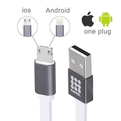 HAWEEL 2 in 1 Charging cable
