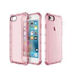 Rock Fence Series Shockproof Protective TPU Case for iPhone 7 (Pink)