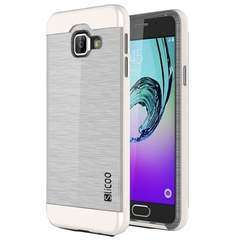 SLiCOO Brushed Transparent  TPU + PC Case For Samsung Galaxy A3 2016