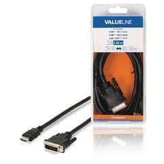 Valueline HDMI Male to DVI-D Male Cable