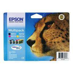 Epson T071540 Multi-Pack T0711,T0712,T0713,T0714 Ink