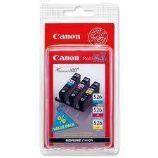 Canon CLI-526CMY Cyan/Magenta/Yellow  Multipack