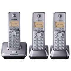 Panasonic KX-TG2713EM DECT Cordless Telephone - Triple Pack