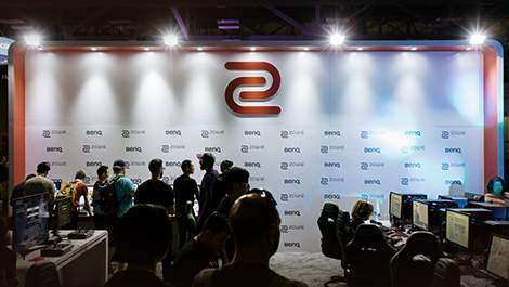 Zowie is dreamhack summer 2016 official esports monitor brand