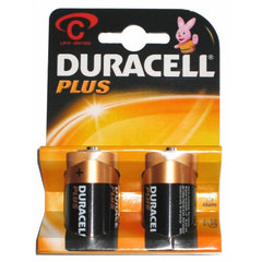 Duracell 1.5v C Alkaline Plus Battery