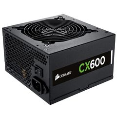 Corsair 600W Builder Series CX600 V2 80 Plus Bronze Performance Power Supply (CP-9020048-UK)