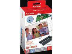 Canon Selphy KPX108/KP108IP Ink & Paper Set