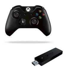 Microsoft XBox Wirelless Controller & Wirelless Adapter for Windows