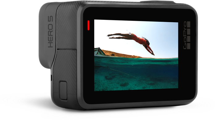 GoPro Touch Display