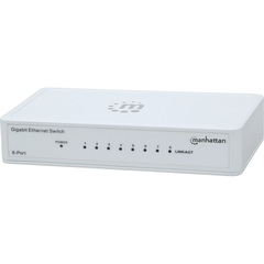 Manhattan 8-Port Gigabit Ethernet Switch