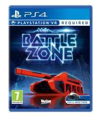 Game Title Battlezone VR PS4