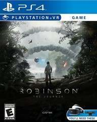 Game Title Robinson The Journey VR PS4