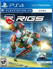 Game Title RIGS Mechanized Combat VR PS4