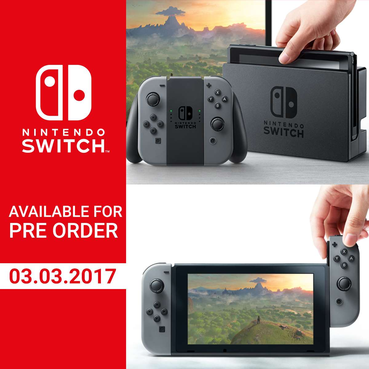 Nintendo switch preorder