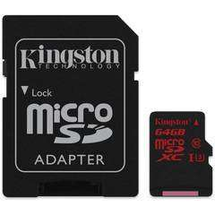 Kingston 64GB microSDHC/SDXC UHS-I U3