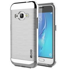 SLiCOO Brushed Texture Transparent TPU Case for Samsung Galaxy J1 201