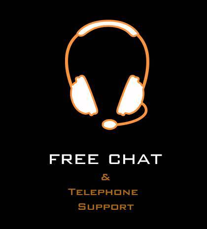Free Telephone Support & Live Chat