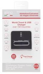 Aiino Travel Adapter 2 USB 2.1A