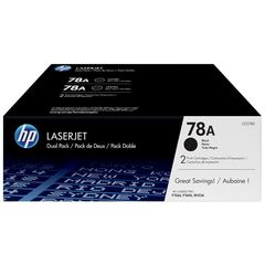 HP Toner 78A Double Pack