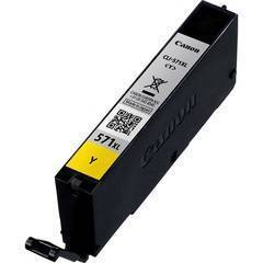 CANON CLI-571XL YELLOW MG5750 ,MG6850,MG7750