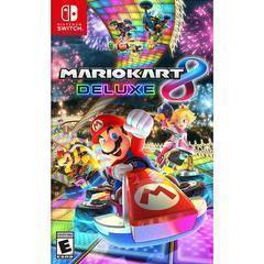 Game Title Mario Kart 8 Deluxe for Nintendo Switch