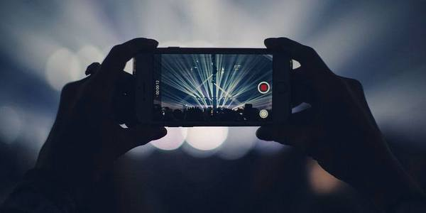 Iphone shoot video