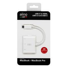 Aiino USB Type-C to HDMI/USB/Type-C Adapter