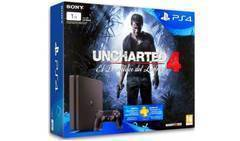 Sony Playstation 4 Slim  1TB & Uncharted 4
