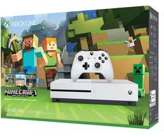 Game Console Xbox One S 500GB + Minecraft