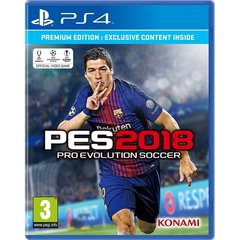 Pro Evolution Soccer PES 2018 for PS4