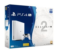Sony Playstation 4 PS4 PRO 1TB With 1 Control + Game Destiny 2