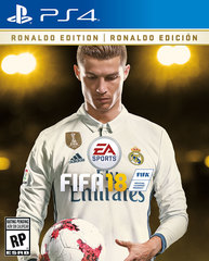 Game Title FIFA 18 For PS4 Ronaldo Edition