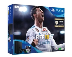 Sony Playstation 4 PS4 1TB With 1 Control + Game Fifa 18